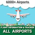 FlightInfo - Flight Information and Flight Tracker icon