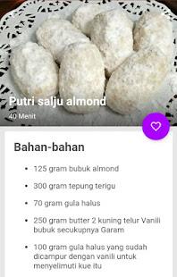 Download Resep Kue Putri Salju Mudah APK latest version App