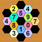 Math Hexagon Puzzles icon