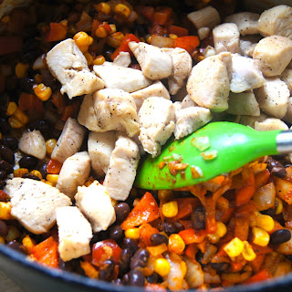 One-Pot Southwest Chicken and Rice.