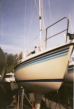Photo: Sunwind ostettiin syksyllä 1994 - tässä ensimmäinen kuva