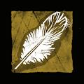 ムクドリの羽