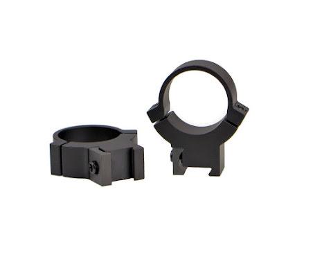 Warne 722M 1 inch 7.3/22 High Matte Rings