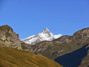Photo: Zoomata sull'Aiguille de Glacier 3816m.