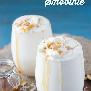 Caramel, Coconut, Cashew Smoothie.