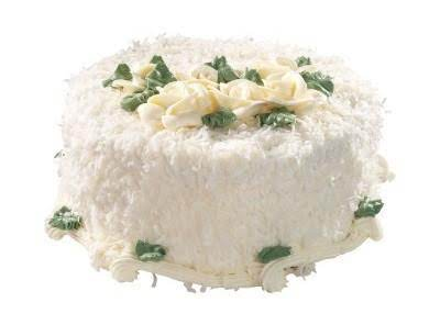 Coconut Cake And Buttercream Frosting