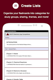 MCAT Chemistry App- screenshot thumbnail