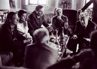 Photo: HANDKE, COLBIN AND VARIOUS SALZBURG POLITICOS MID 80S