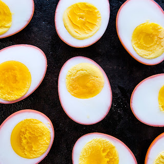 Beet-Pickled Eggs.