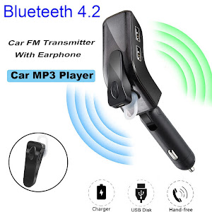 Modulator auto Bluetooth si Casca Handsfree V9