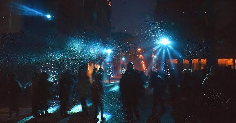 festa di halloween in piazza di Marygio16