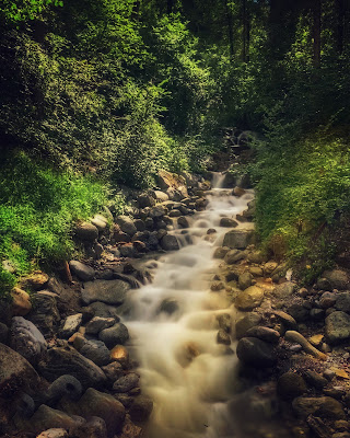 La cascata del silenzio