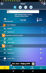 Newark Airport +Flight Tracker screenshot 1