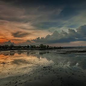 sunset by RIO DJOENED - Landscapes Sunsets & Sunrises