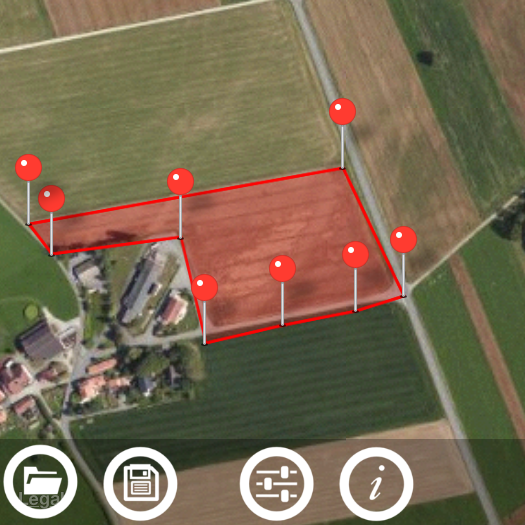 VisTech Projects: Planimeter - GPS Area Measure for iOS  How to