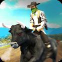 Angry Bull Attack – Cowboy Racing icon