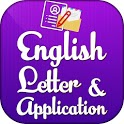English letter and application icon