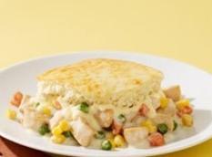 Cheesy Chicken Pot Pie Casserole Recipe