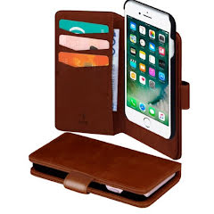 SiGN 2 in 1 Magnetic Wallet Iphone 6/6S/7/8 Plus BROWN