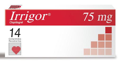 clopidogrel irrigor 75mg 14comprimidos dollder