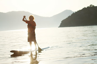 Photo: SUP Stand up paddle boarding...  http://www.neilson.co.uk/beach/beginners/on-the-water/