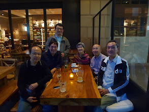 Photo: After dinner drink in Wanchai