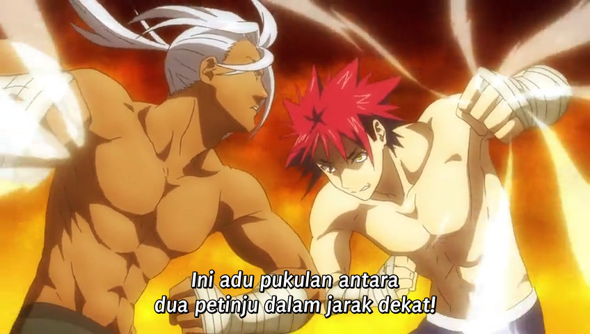 Download Shokugeki no Souma: San no Sara Episode 17 Subtitle Indonesia