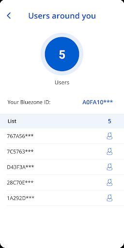 Bluezone - Contact detection 3.0.1 Screenshots 5