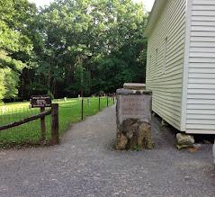 Photo: Primitive Baptist Church was established June 16, 1827
