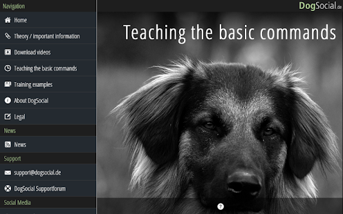 Dog Training Basics Screenshot