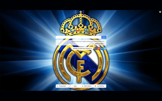 Real Madrid New Tab