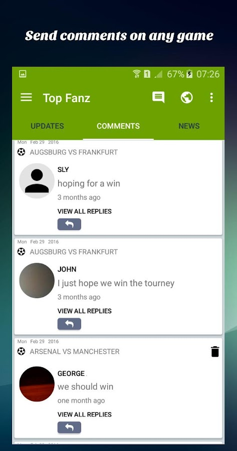 Top Fanz Social Soccer- screenshot