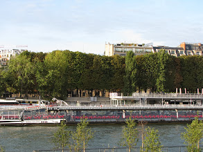 Photo: One last stroll along La Seineand one last look at Bateaux Mouches...