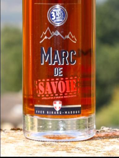 Marc de Savoie IGP - Cépage Mondeuse - Domaine Yves Girard-Madoux - Vignoble de la Pierre - Vin de Savoie - Chignin