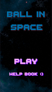Ball in Space Screenshot