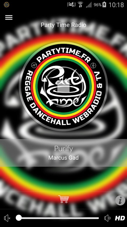 Party Time Radio Reggae- screenshot
