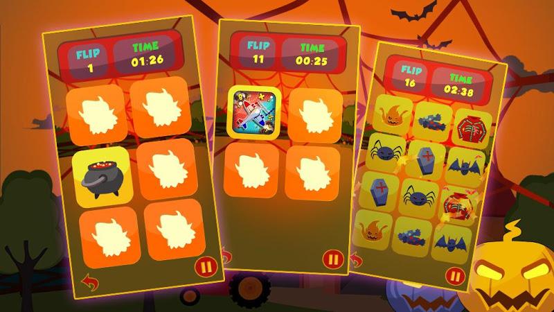 Скриншот Old Mac Pair Me Up Halloween
