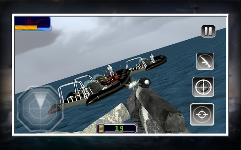 android Sniper X Marine Blitz Screenshot 12