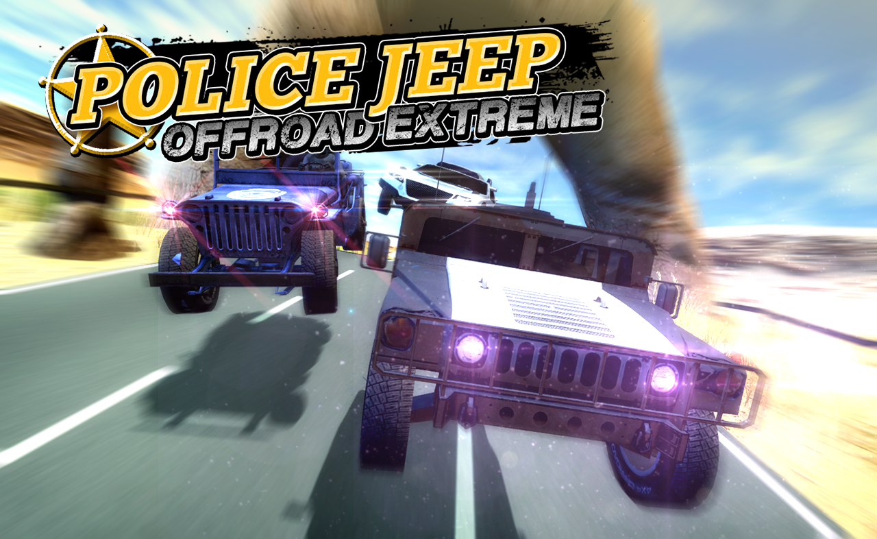Police Jeep Offroad Extreme- screenshot