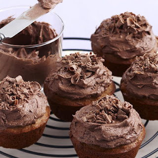 Chocolate, Coconut and Pecan Cupcakes