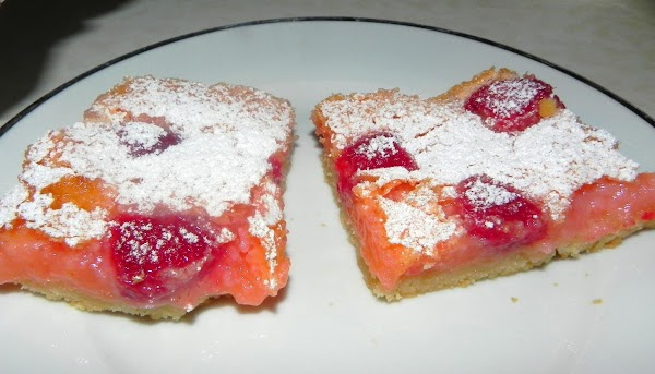 Pink Raspberry Lemonade Bars Recipe
