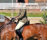 Hope Riding Training Showing Show : Hope Riding
