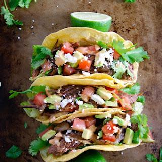 Caramelized Onions & Brisket Tacos