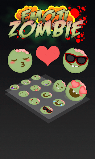 TouchPal Zombie Emoji Pack