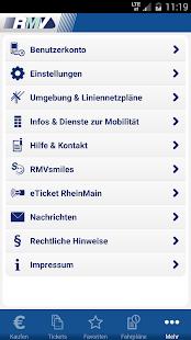 RMV Rhein-Main-Verkehrsverbund - screenshot thumbnail