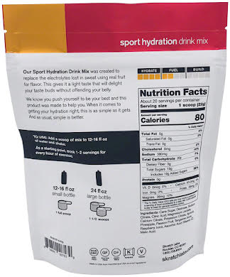 Skratch Labs Sport Hydration Drink Mix: 20-Serving Resealable Pouch alternate image 4