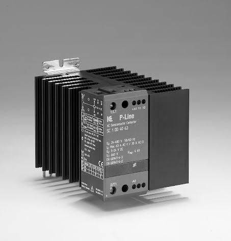 Statisk kontaktor, 400 VAC, AC1:20 A, 3-fas