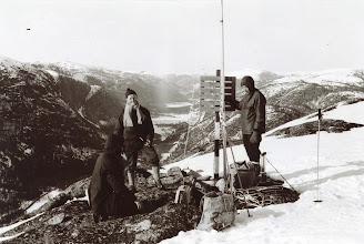 Photo: Testing, topp, (Åseral?), 60-årene