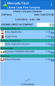 Lista de Compras Mercado Facil screenshot 1