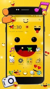 happy Glad Emojis Theme - náhled